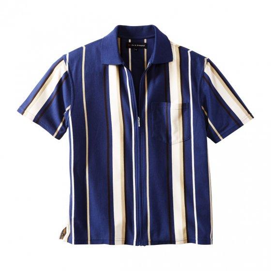 T-shirt en jersey avec glissière intégrale