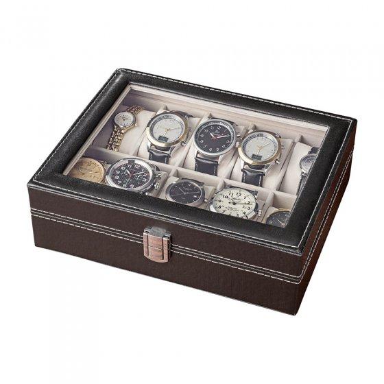 Coffret pour montres en cuir