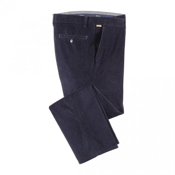 Pantalon sportif en velours côtelé