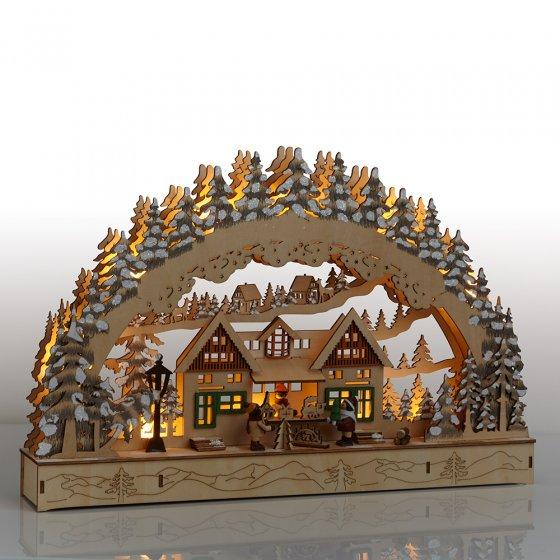 """Arche lumineuse  """"marché de Noël"""""""