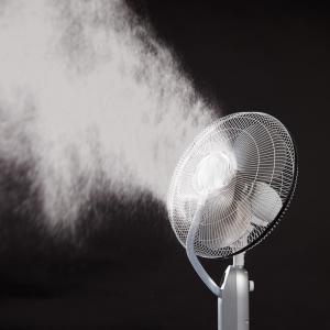 ventilateur brumisateur ultrasons sur pied t l commande achetez ce produit ventilateur. Black Bedroom Furniture Sets. Home Design Ideas