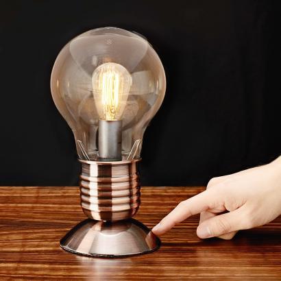 Lampe ampoule lectrique edison achetez ce produit lampe for Lampe en forme d ampoule