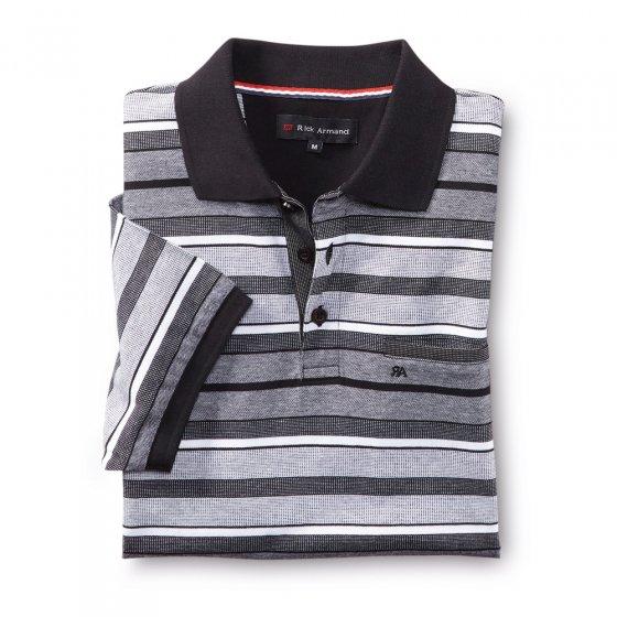 T-shirt actuel en piqué de coton