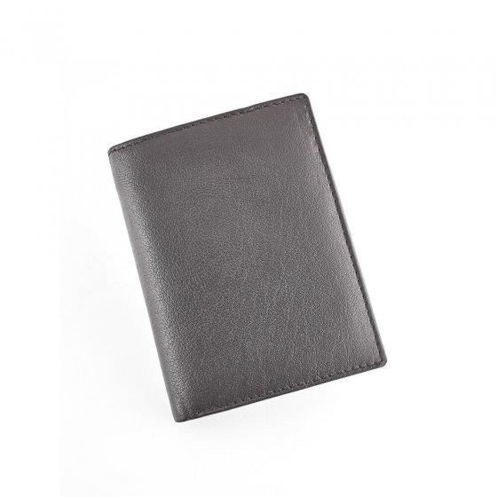 Porte-monnaie de sécurité en cuir vachette