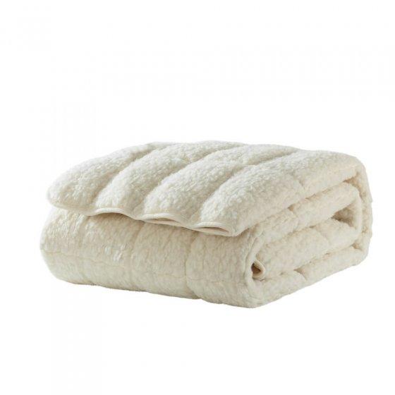 Surmatelas en laine d'agneau