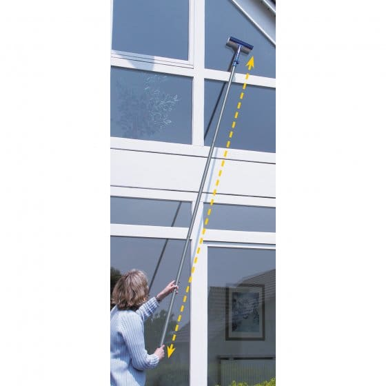 Balai la ve-vitres extra-long