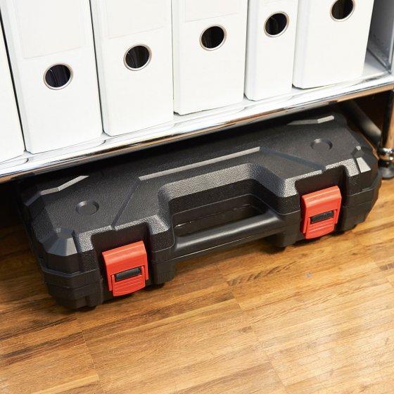 Boîte à outils avec visseuse sans fil