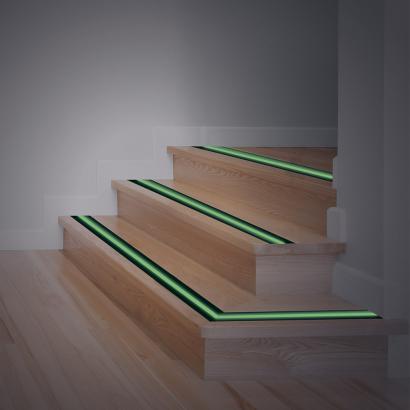 bande adh sive luminescente et antid rapante lot de 2 achetez ce produit bande adh sive. Black Bedroom Furniture Sets. Home Design Ideas