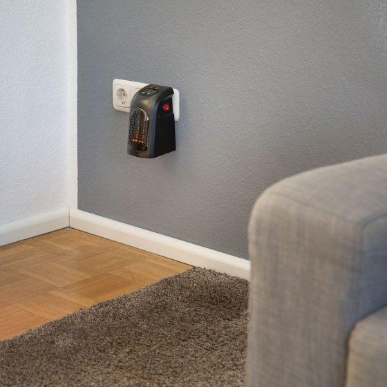 mini radiateur sur prise. Black Bedroom Furniture Sets. Home Design Ideas