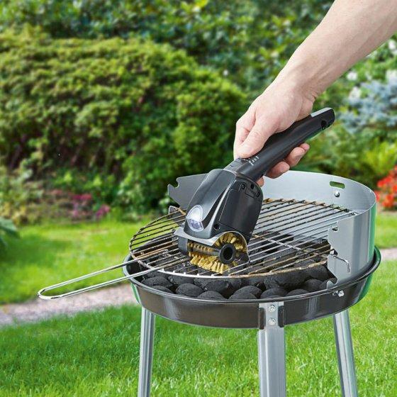 Brosse électrique pour barbecue