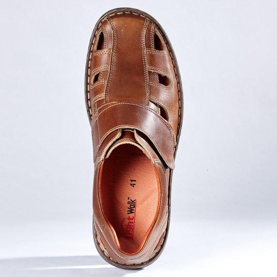 Chaussures d'été à patte auto-agrippante