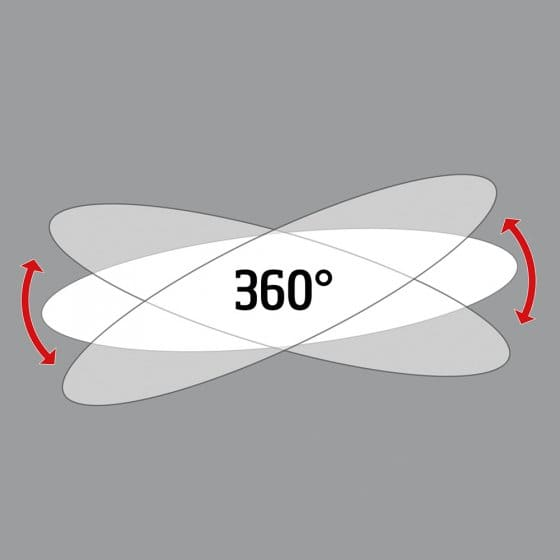 Rétroviseur de vélo 3D col de cygne