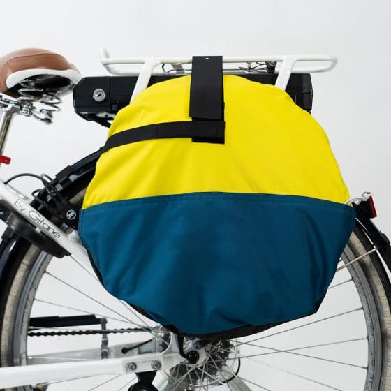 Bulle de protection mobile pour vélo