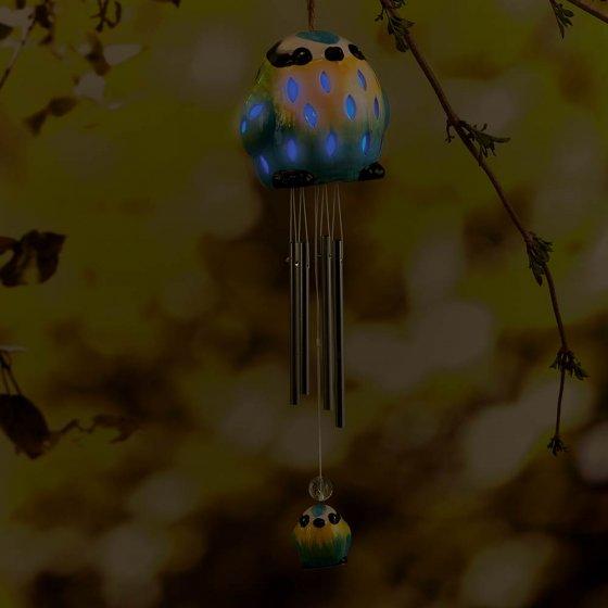 """Carillon solaire  """"Mésange bleue"""""""