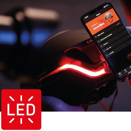 Casque de sécurité LED 360°