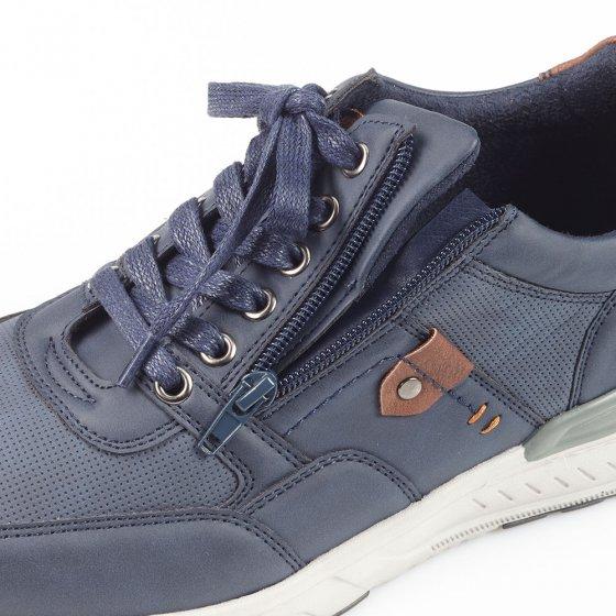 Chaussures à lacer avec glissière