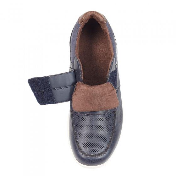 Chaussures bateau à patte auto-agrippante