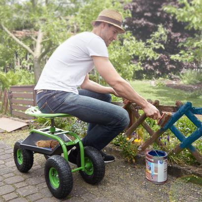 Si ge de jardinage mobile avec bac de rangement achetez for Site de jardinage