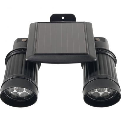 double projecteur solaire avec capteur de mouvements. Black Bedroom Furniture Sets. Home Design Ideas