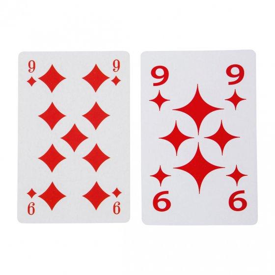 Jeu de cartes XL Lot de 2