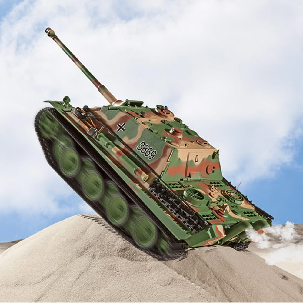 char d 39 assaut jagdpanther radiocommand achetez ce. Black Bedroom Furniture Sets. Home Design Ideas