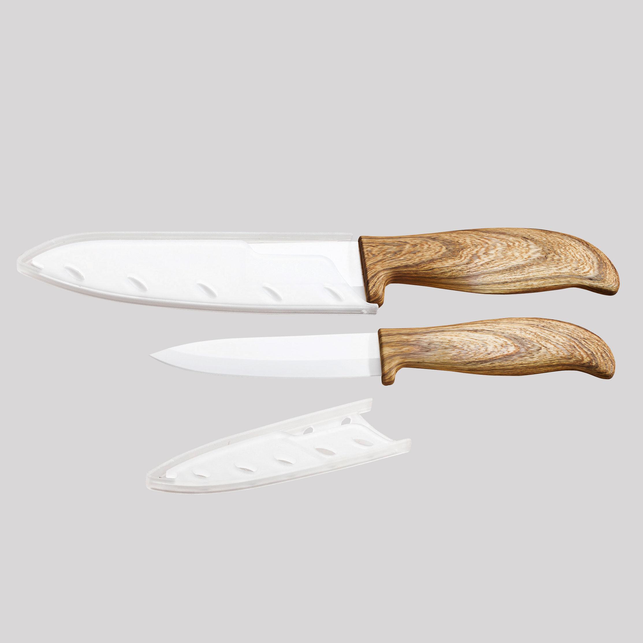 commander en toute simplicit set de couteaux c ramique aspect bois chez eurotops. Black Bedroom Furniture Sets. Home Design Ideas