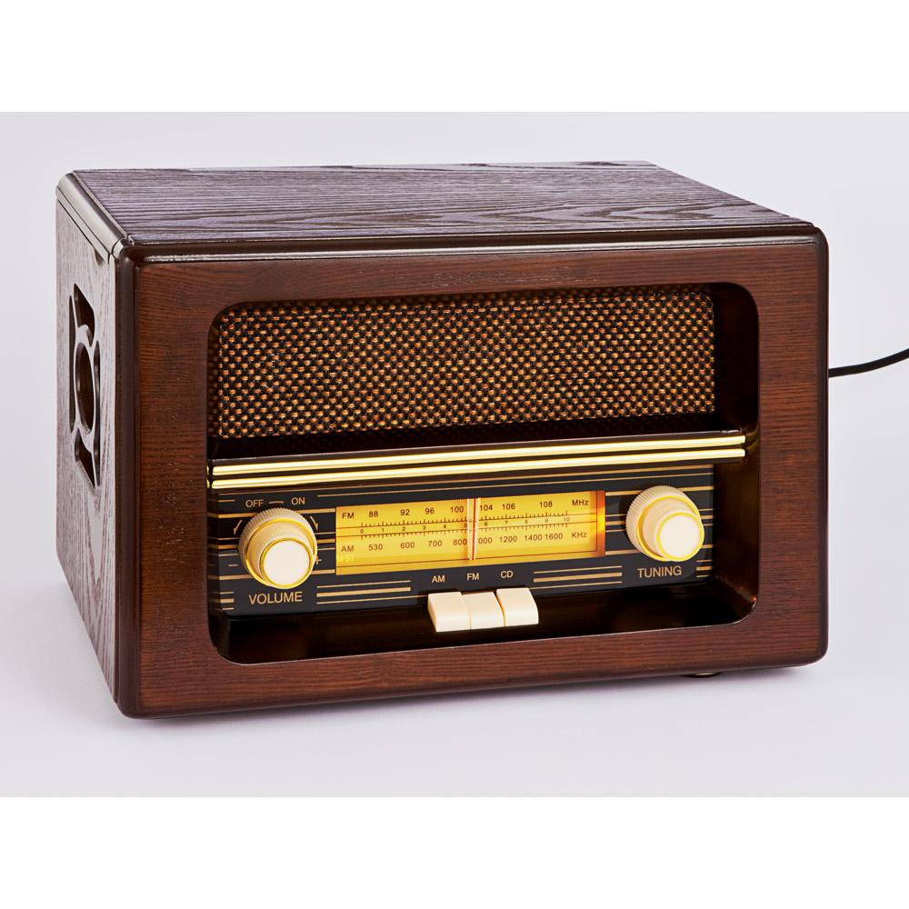 commander en toute simplicit radio r tro avec lecteur cd chez eurotops. Black Bedroom Furniture Sets. Home Design Ideas