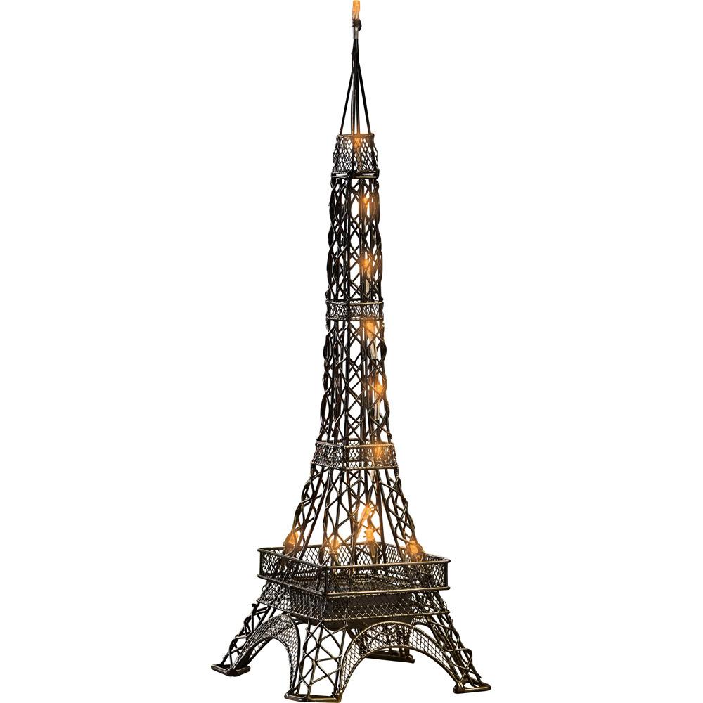 En stock tour eiffel lampe poser rouge h53cm pictures to - Lampe tour eiffel ...