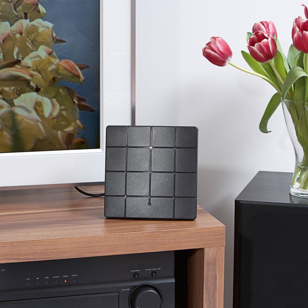 antenne d 39 int rieur dvb t compatible hdtv. Black Bedroom Furniture Sets. Home Design Ideas