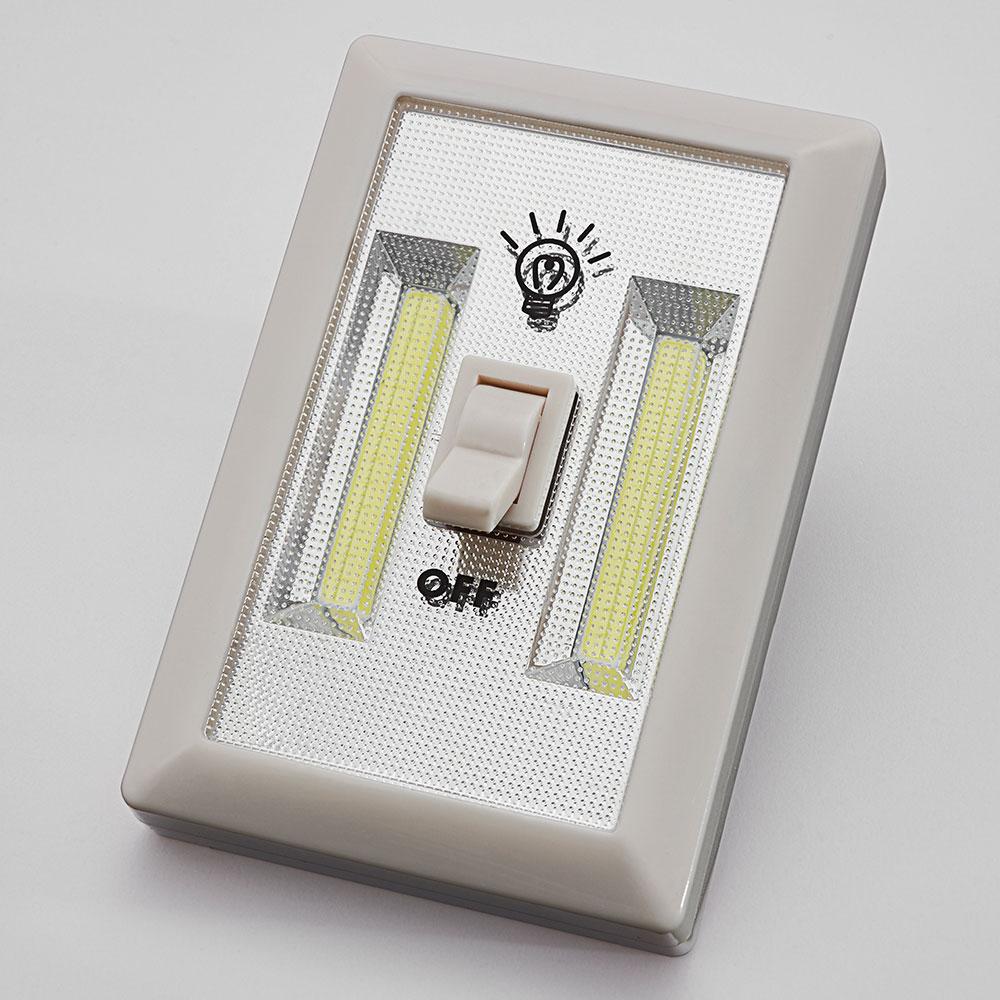 Commander en toute simplicit lampe murale cob avec - Lampe murale avec interrupteur ...