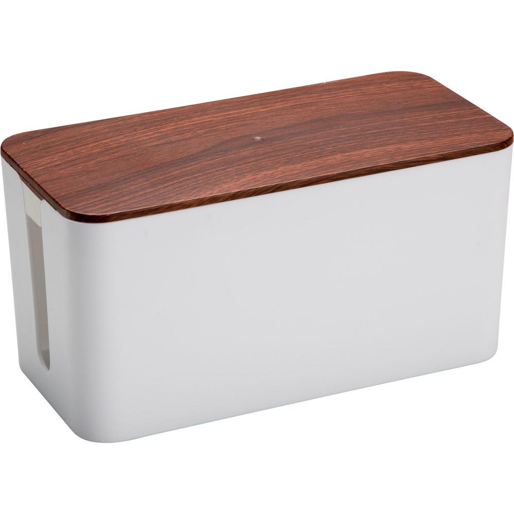 commander en toute simplicit bo te de rangement de c bles chez eurotops. Black Bedroom Furniture Sets. Home Design Ideas