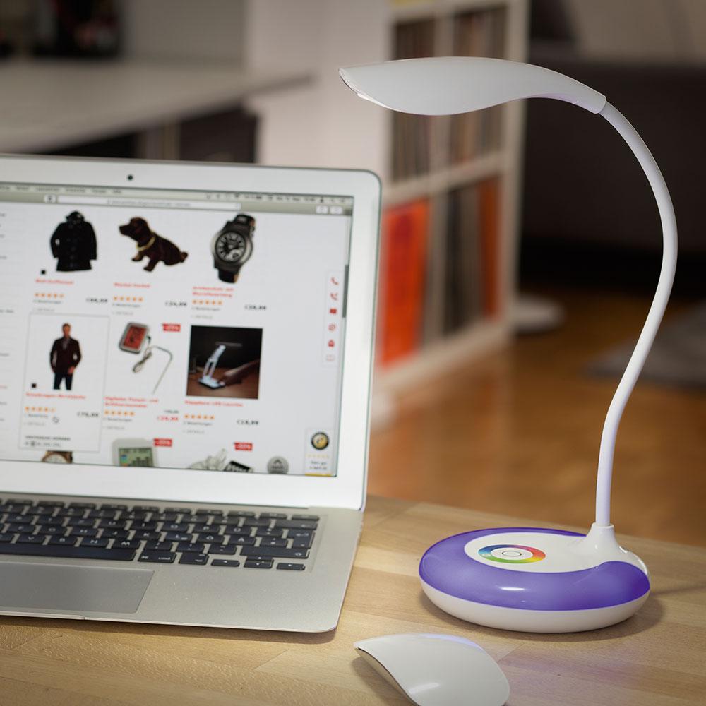 lampe de table sans fil led arc en ciel achetez ce produit lampe de table sans fil led. Black Bedroom Furniture Sets. Home Design Ideas