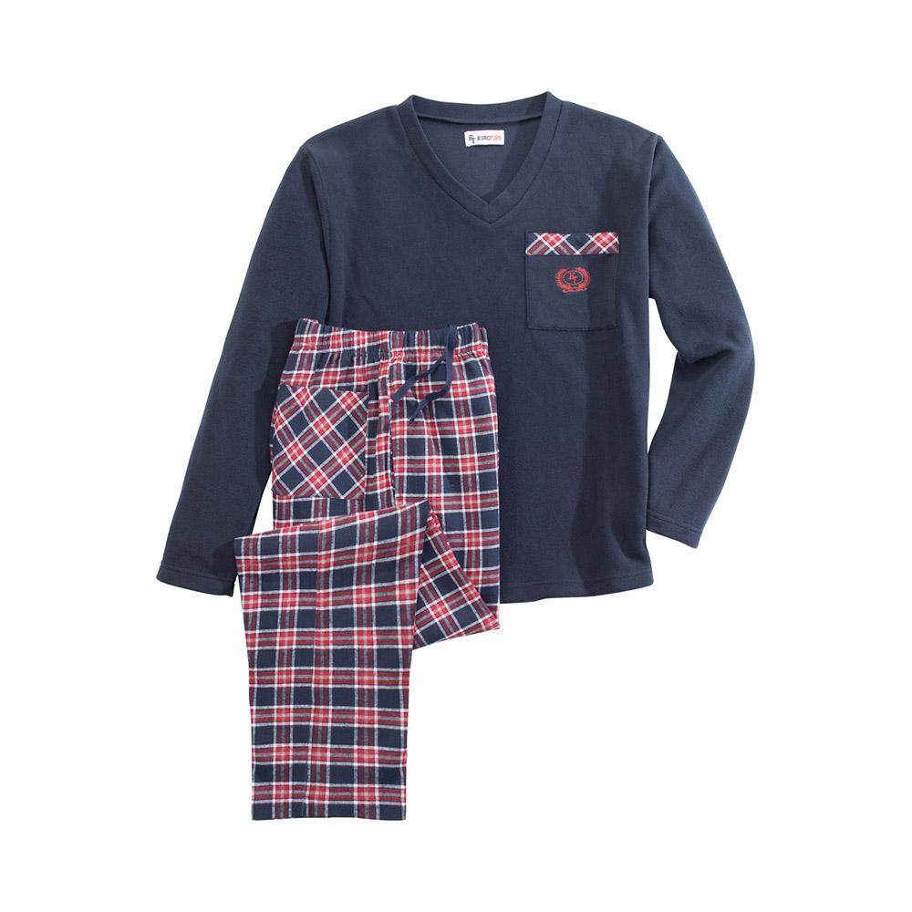 commander en toute simplicit pyjama homme en polaire chez eurotops. Black Bedroom Furniture Sets. Home Design Ideas