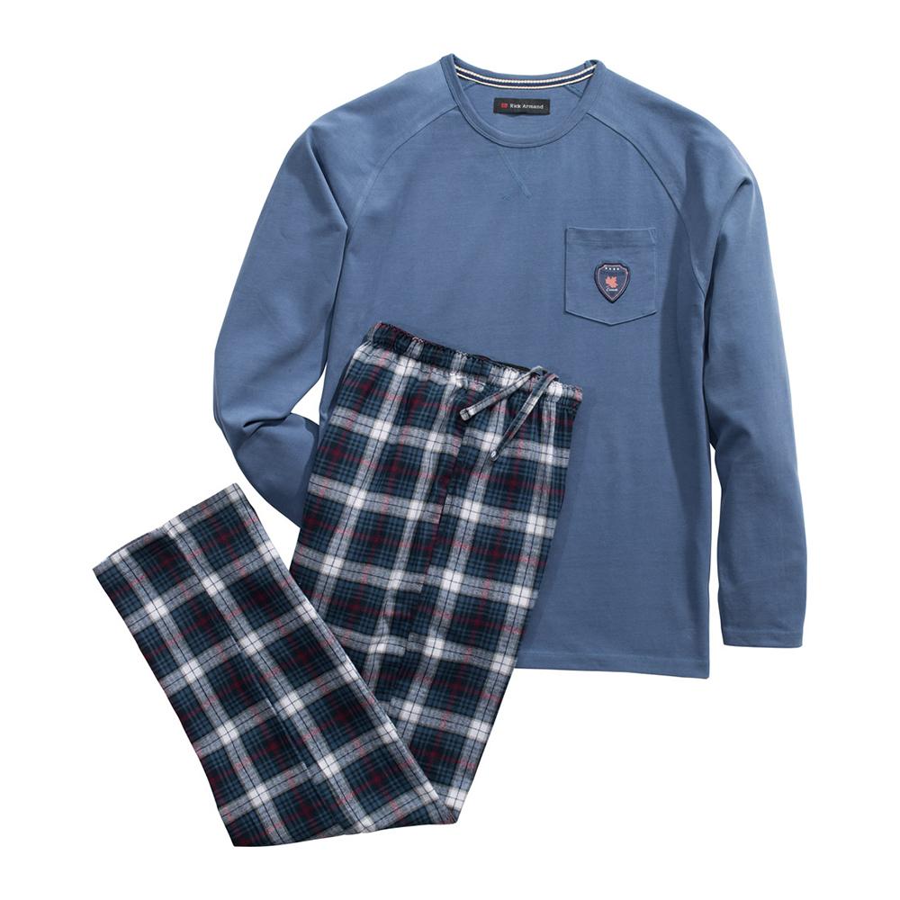 commander en toute simplicit pyjama homme en coton chez eurotops. Black Bedroom Furniture Sets. Home Design Ideas