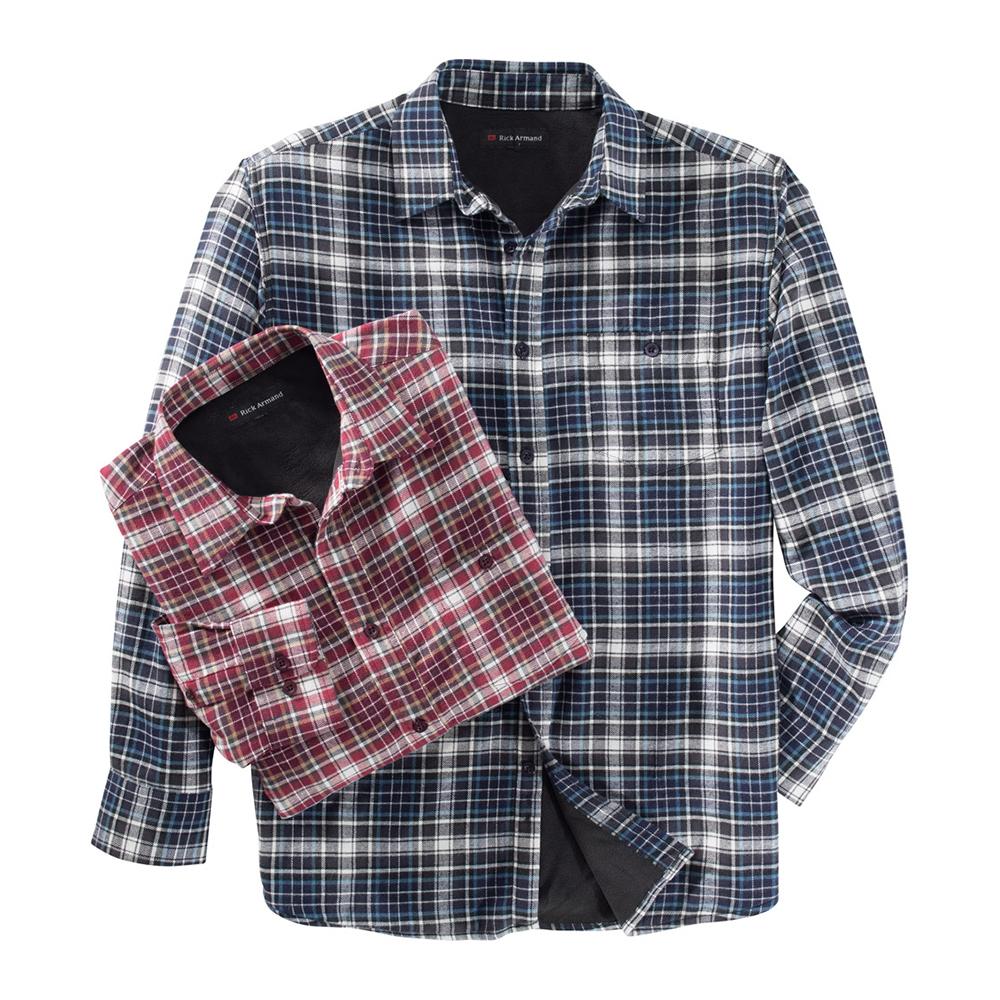 commander en toute simplicit chemise carreaux doublure thermique chez eurotops. Black Bedroom Furniture Sets. Home Design Ideas