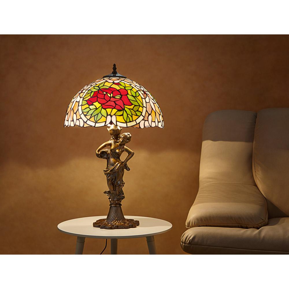 commander en toute simplicit lampe de table tiffany chez eurotops. Black Bedroom Furniture Sets. Home Design Ideas