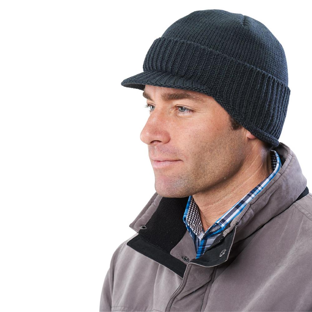 commander en toute simplicit casquette laine doubl e de polaire chez eurotops. Black Bedroom Furniture Sets. Home Design Ideas